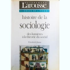 HISTOIRE DE LA SOCIOLOGIE, FRIEDRICH JONAS
