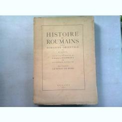 HISTOIRE DES ROUMAINS ET DE LA ROMANITE ORIENTALE - N. IORGA  VOL.I, PARTEA A DOUA/LE SCEAU DE ROME