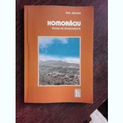 HOMORACIU, PAGINI DE MONOGRAFIE - ION JERCAN