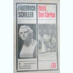 HOTII. DON CARLOS - FRIEDRICH SCHILLER