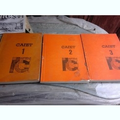 I-A CONFERINTA DEINGINERIE TEHNOLOGICA PENTRU CONSTRUCTII, PIATRA NEAMT1985, 3 CAIETE