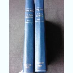 IN SERVICIUL MARESALULUI - LARRY WATTS  2 VOLUME, CARTI LITOGRAFIATE