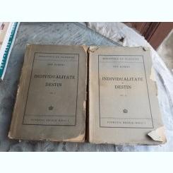 INDIVIDUALITATE SI DESTIN - ION BIBERI  2 VOLUME