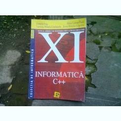 INFORMATICA C++. MANUAL XI - CORNELIA IVASE