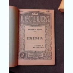INIMA - HEINRICH MANN  DIN COLECTIA LECTURA  FLOAREA LITERATURILOR STRAINE NR.16