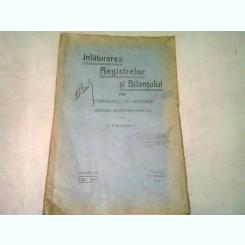 INLATURAREA REGISTRELOR SI BILANTULUI PRIN COMISIUNILE DE IMPUNERI - I.VASILESCU