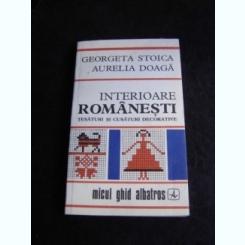 INTERIOARE ROMANESTI - GEORGETA STOICA