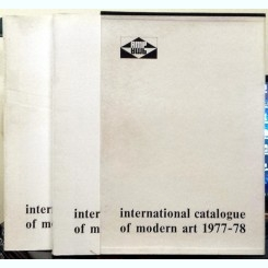 INTERNATIONAL CATALOGUE OF MODERN ART 1977-78   2 VOLUME