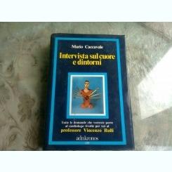 INTERVISTA SUL CUORE E DINTORNI - MARIO CACCAVALE  (CARTE IN LIMBA SPANIOLA)