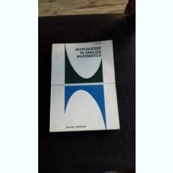 INTRODUCERE IN ANALIZA MATEMATICA - C. MEGHEA