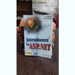 INTRODUCERE IN ASP.NET - JOE MARTIN