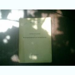 Introducere in biogeografia Romaniei - Raul Calinescu