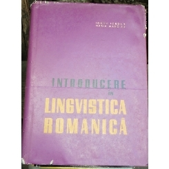 INTRODUCERE IN LINGVISTICA ROMANICA - IORGU IORDAN
