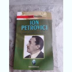 ION PETROVICI, CORESPONDENTA PAMFIL SICARU-ION PETROVICI - IONEL NECULA