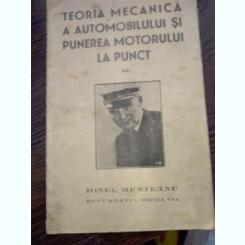 IONEL MUNTEANU - TEORIA MECANICA A AUTOMOBILULUI - EDITIA II-A - 1935