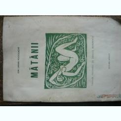 Ion Larian Postolache - Matanii, cu garavuri de Dragos Morarescu ( exemplar numerotat si semnat )