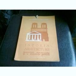 ISTORIA ARHITECTURII SOCIETATII SCLAVAGISTE SI A SOCIETATII FEUDALE - GR. SEBESTYEN