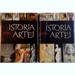 ISTORIA ARTEI- MIHAI ALPATOV, ARTA LUMII VECHI SI A EVULUI MEDIU/ARTA RENASTERII SI A EPOCII MODERNE- VOL.I-II, BUC. 1962-1965