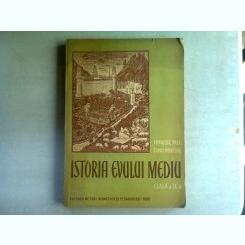 ISTORIA EVULUI MEDIU SI MODERN PENTRU CLASA A IX-A - FRANCISC PALL