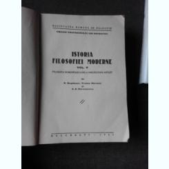 ISTORIA FILOSOFIEI MODERNE, VOL.V FILOSOFIA ROM,ANEASCA DE LA ORIGINI PANA ASTAZI - COLECTIV DE AUTORI