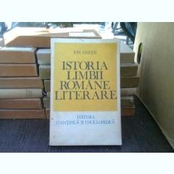 Istoria limbii romane literare - Ion Ghetia