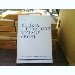 Istoria literaturii romane vechi - I.D. Laudat
