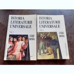 ISTORIA LITERATURII UNIVERSALE - OVIDIU DRIMBA  2 VOLUME