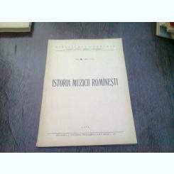 ISTORIA MUZICII ROMANESTI - GEORGE BREAZUL