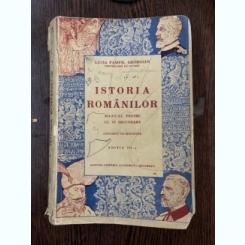 ISTORIA ROMANILOR - LUCIA PAMFIL GEORGIAN  (MANUAL PENTRU CLASA A IV-A SECUNDARA)