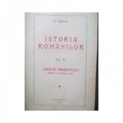 ISTORIA ROMANILOR. VOL.II -  OAMENII PAMANTULUI (PANA LA ANUL 1000) - N. IORGA