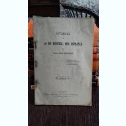 ISTORICUL A 40 DE BISERICI DIN ROMANIA - MARIN DUMITRESCU    VOL.3