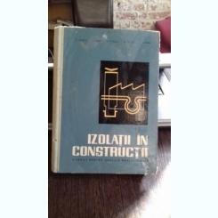 IZOLATII IN  CONSTRUCTII - C. STOICA   MANUAL PENTRU SCOLILE PROFESIONALE