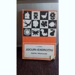 JOCURI EXERCITIU PENTRU PRESCOLARI - A.V. LOVINESCU