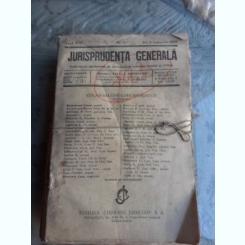 JURISPRUDENTA GENERALA PE ANUL 1935 (40 NUMERE)
