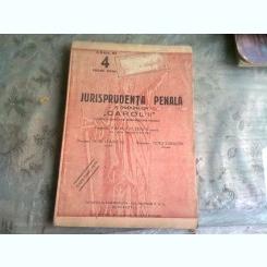 JURISPRUDENTA PENALA A CODURILOR CAROL II NR.4/1939