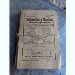 JURISPRUDENTA ROMANA, ANUL 1940, NUMERELE 1 LA 20