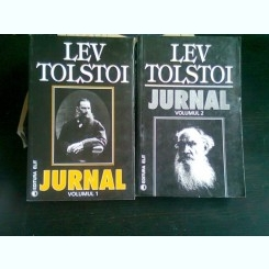 JURNAL - LEV TOLSTOI   2 VOLUME