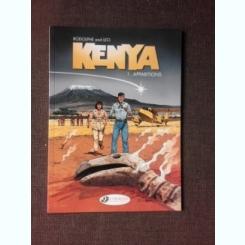 KENYA, APPARITIONS - RODOLPHE AND LEO  (CARTE CU BENZI DESENATE, TEXT IN LIMBA ENGLEZA)