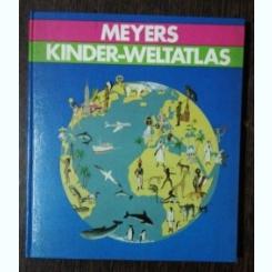 KINDER-WELTATLAS - MEYERS