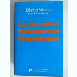 La fonction Ressources Humaines - Dimitri Weiss