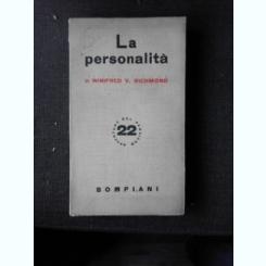 LA PERSONALITA - WINIFRED V. RICHMOND  (CARTE IN LIMBA ITALIANA)