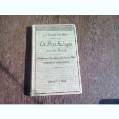 La psychologie par les textes - J.-F. Renauld et M. Marie