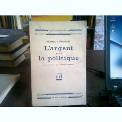 L'ARGENT DANS LA POLITIQUE - RICHARD LEWINSOHN