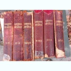 Larousse du XXe siecle en six volumes - Paul Auge  (6 volume)