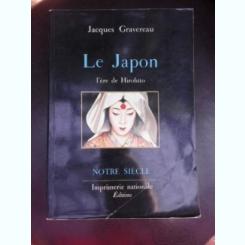 Le Japon, l'ere de Hirohito - Jacques Gravereau   (carte in limba franceza)