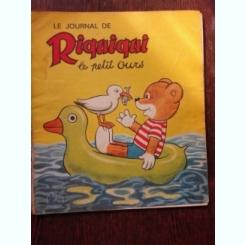 LE JOURNAL DE ROUDOUDOU, LE PETIT OURS NR.275