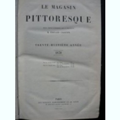 LE MAGASIN PITTORESQUE - 1870