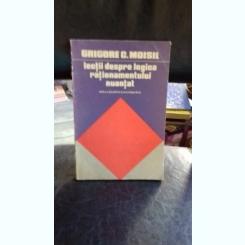 LECTII DESPRE LOGICA RATIONAMENTULUI NUANTAT - GRIGORE C. MOISIL