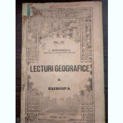 Lecturi Geografice, F. America de sud , I. Simionescu