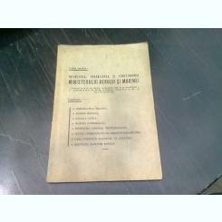 LEGEA PENTRU INFIINTAREA, ORGANIZAREA SI FUNCTIONAREA MINISTERULUI AERULUI SI MARINEI 1936